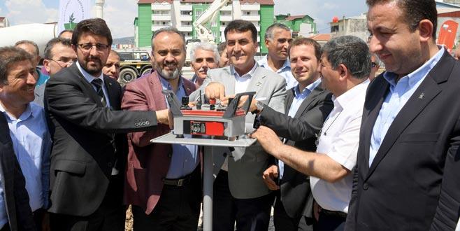 Bursa'ya yeni kapalı pazar yeri