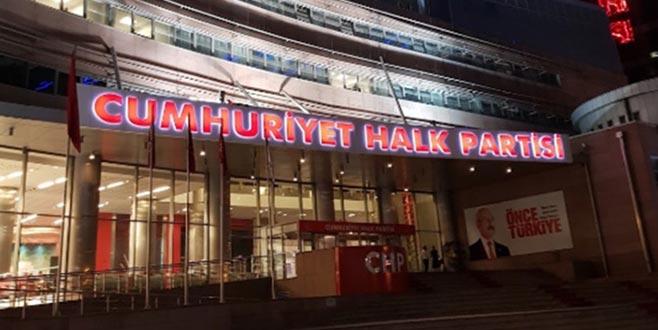 CHP'de kurultay resti
