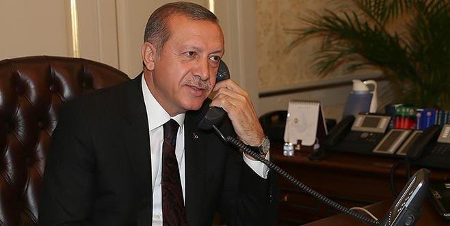 Cumhurbaşkanı Erdoğan, Moldova Cumhurbaşkanı ile telefonda görüştü
