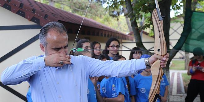 Başkan Aktaş, Karacaali Kampı'nda