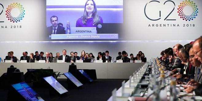 Ticaret savaşlarının gölgesinde G20 Toplantısı