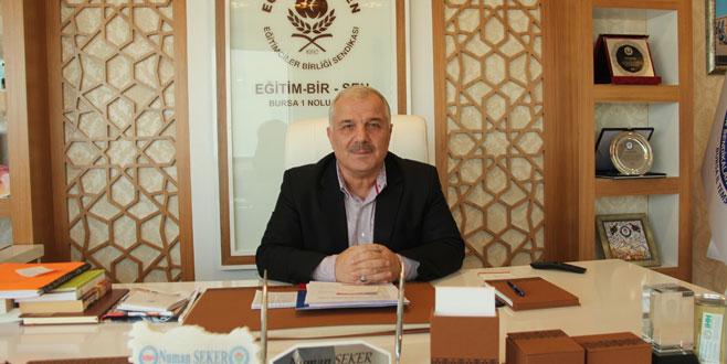 'Performans' açıklamasına Bursa'dan tam destek