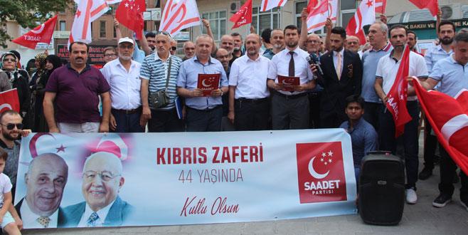 Saadet Partisi Kıbrıs Harekatı'nı andı