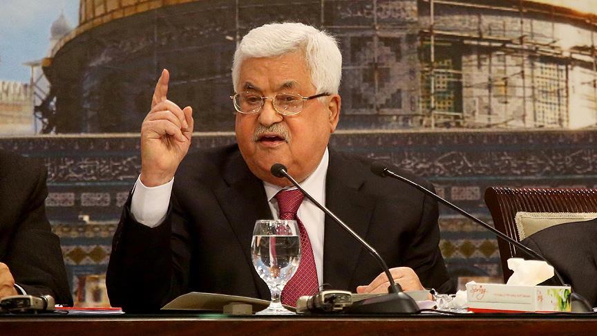 Filistin Devlet Başkanı Abbas: Han el-Ahmer Filistinlilerin mücadelesinin sembolüdür