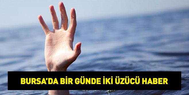 Bursa'da bir günde iki boğulma haberi