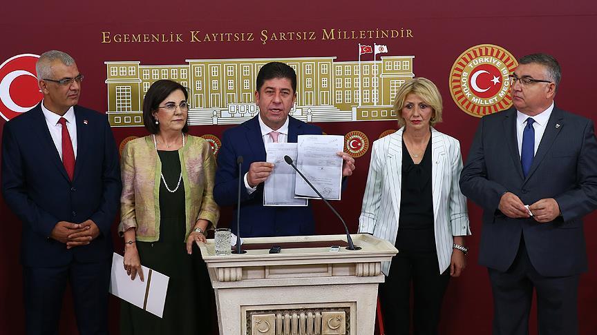 CHP Bilecik Milletvekili Tüzün: Yeter sayıda imza an itibarıyla toplanmıştır