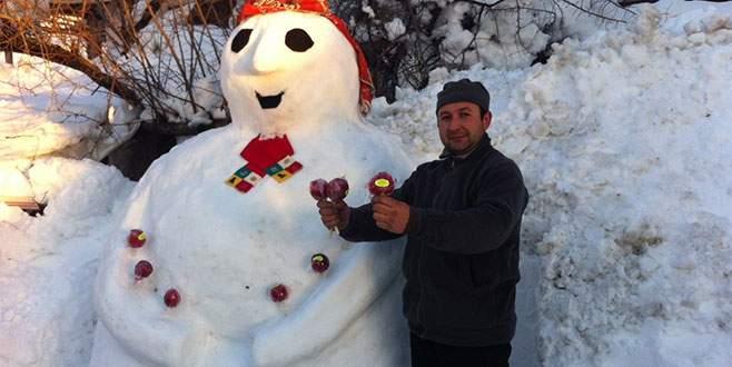 Dev kardan adam ile satışlarını katladı