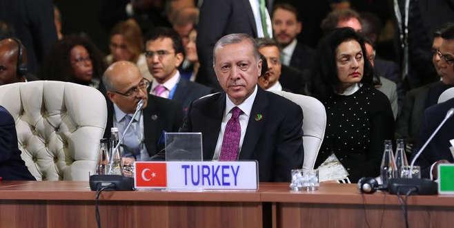 Erdoğan: Mevcut küresel sistem kimseyi tatmin etmiyor