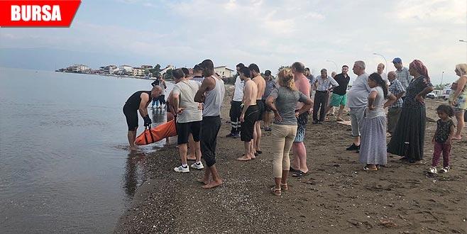 Denizde ceset bulundu
