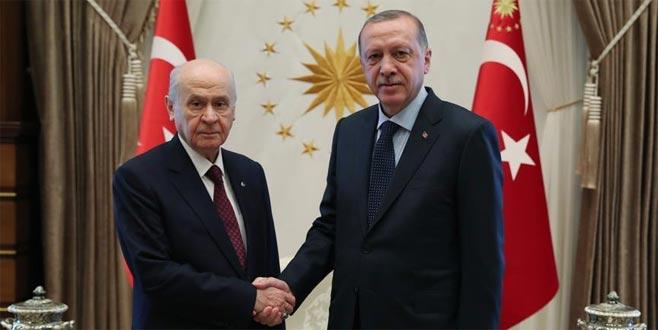 Erdoğan ile Bahçeli'nin görüşme tarihi belli oldu