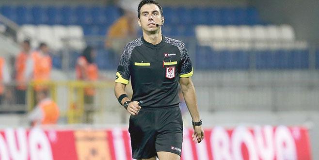 Bursalı hakeme UEFA'da görev