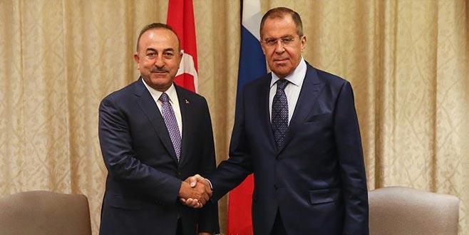 Çavuşoğlu, Lavrov'la görüşecek