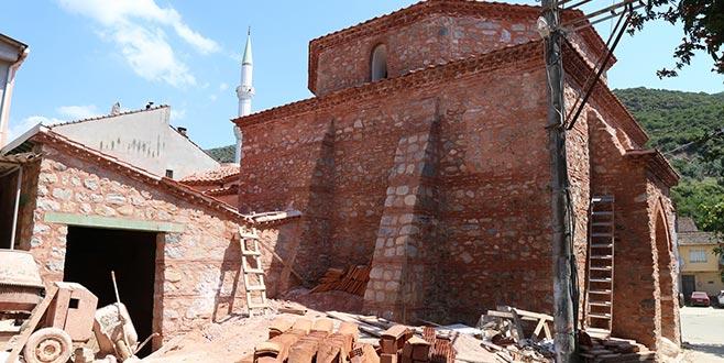 Gemlik'teki tarihi hamam kültür merkezi oluyor