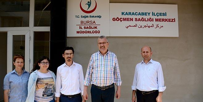 Suriyeliler için sağlık merkezi