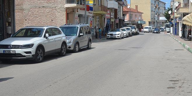 Mudanya'da oto park yasağı