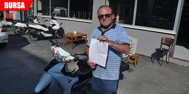 Şehit babası, çaldığı motosikletini geri getiren hırsızı affetti