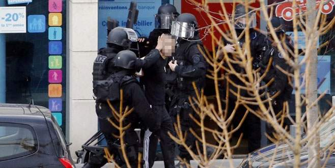 Paris'te rehine krizi sona erdi