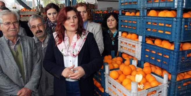 Tek seferde 52 ton portakal aldı