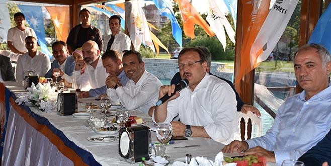 AK Parti Gemlik'te birlik beraberlik mesajı