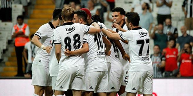 Beşiktaş tur için avantaj yakaladı
