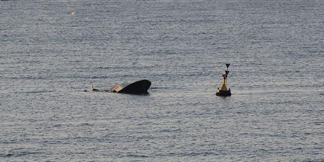 Batan teknede kaybolan kişinin cansız bedeni bulundu