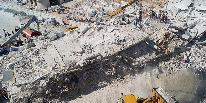 İdlib'in Sermada ilçesinde patlama: 32 ölü, 45 yaralı