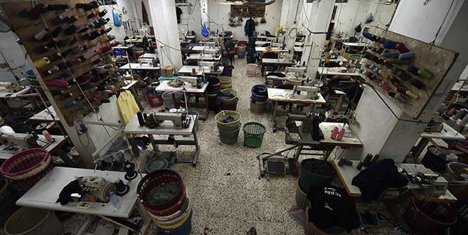 Gazze'de üretim durdu