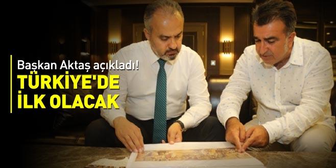 Başkan Aktaş açıkladı! Türkiye'de ilk olacak