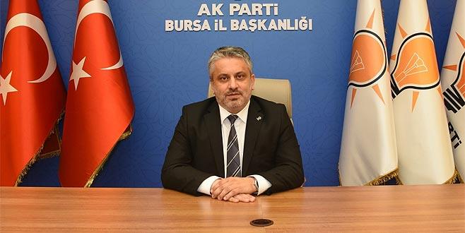 AK Parti'nin kuruluş yıldönümünde il başkanından döviz açıklaması