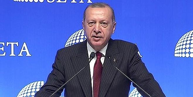Erdoğan: Amerika'nın elektronik ürünlerine boykot uygulayacağız
