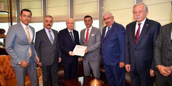 Bahçeli imzaladı... Resmen MHP'de