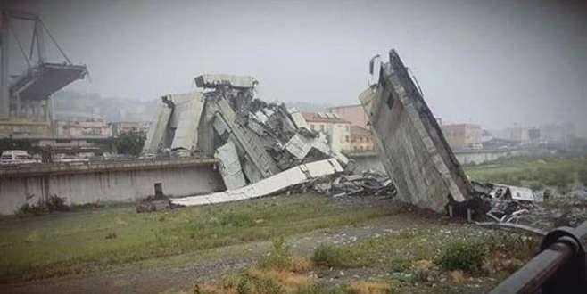 İtalya'da otoyol köprüsü çöktü! Ölü ve yaralılar var...