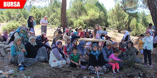 Köylülerin nöbeti sürüyor: 'Bayramda da buradayız'