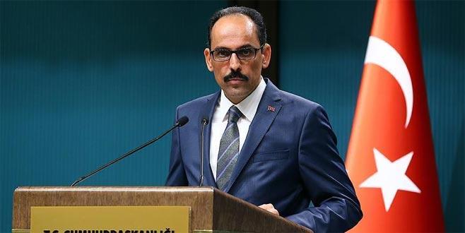 Kalın: Türkiye kimseyle ekonomik savaş peşinde değil