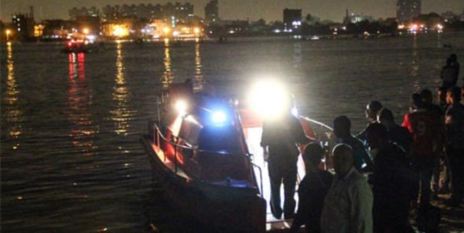 Nil Nehri'nde tekne faciası