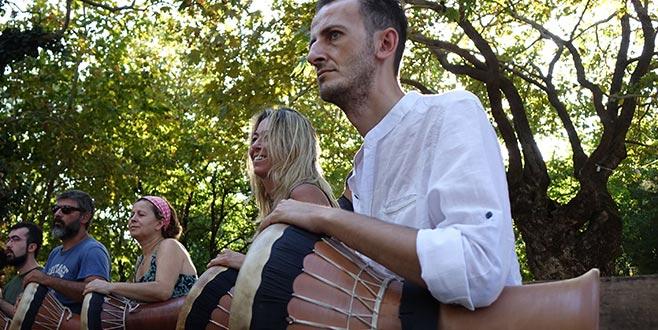 Kazdağları'nda 'Ritim ve Sanat Kampı'
