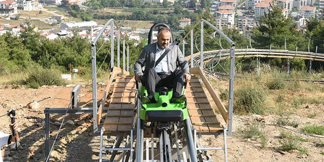 Bursa'da adrenalin tutkunları maceraya doyacak