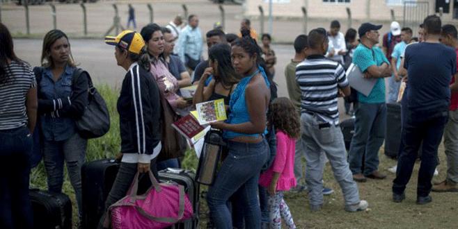 Venezuelalı göçmenlere linç girişimi
