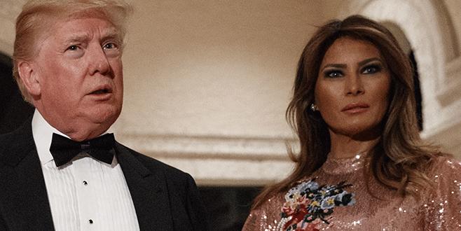 Trump, Melana'yı tehdit ediyormuş