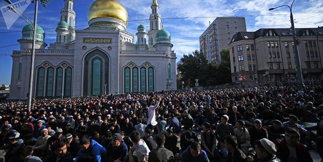 Kurban Bayramı Rusya'da da coşku ile kutlanıyor
