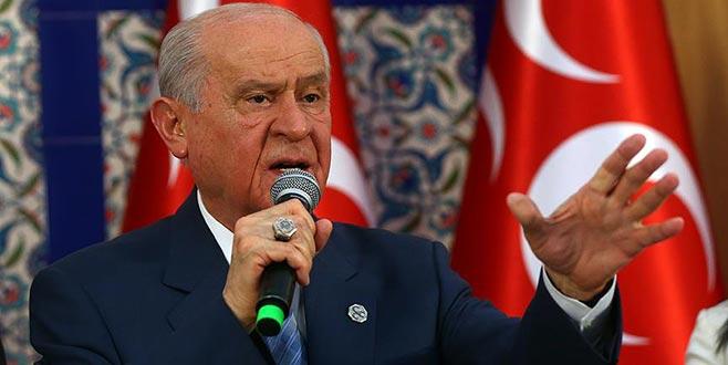 MHP lideri Bahçeli'den çok sert mesajlar!