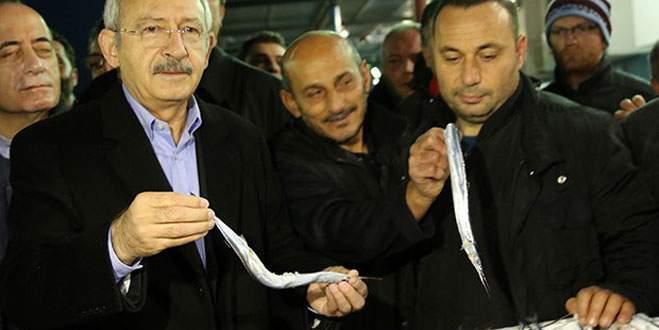 Kılıçdaroğlu balık sattı