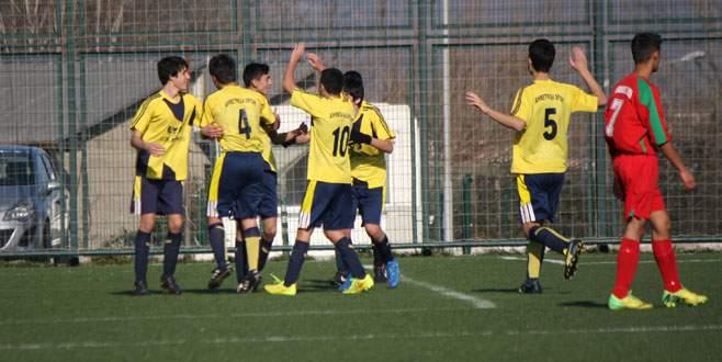 Ahmetpaşa geç açıldı :2-0