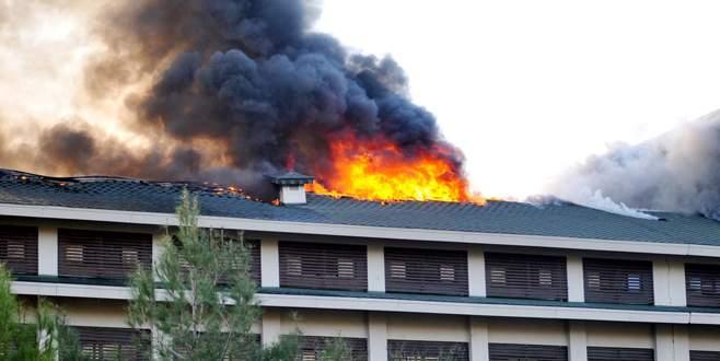 5 yıldızlı otelde yangın