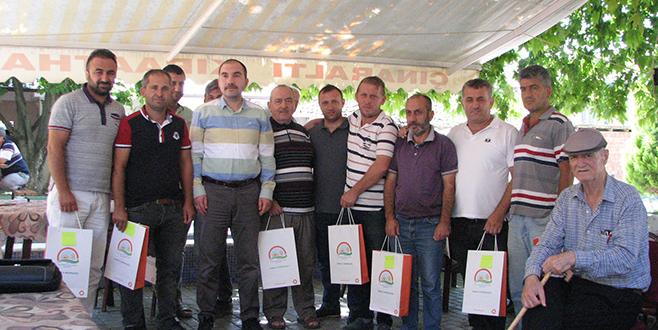 Başarılı çiftçiye sertifika