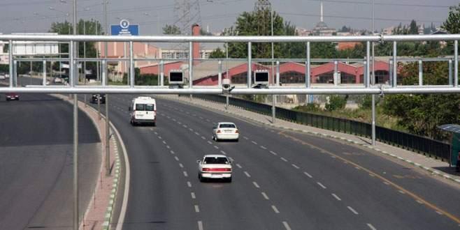 Bursa'da MOBESE'ler para bastı