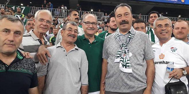 Muhtarlardan Bursaspor'a tam destek