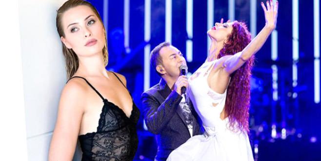 17 kiloluk ceketle konsere çıkan Serdar, eşinin dansçı kuralını çiğnedi