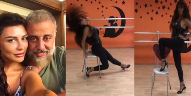 Hamdi Alkan'ın eşi dans videosuyla ortalığı kasıp kavurdu!