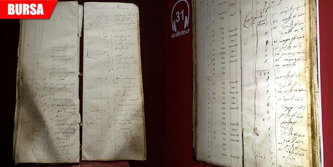 138 yıllık veresiye defteri geçmişin alışverişini anlatıyor